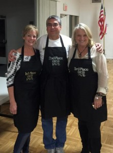 """The """"Members' Choice"""" champs: Candie, Craig and Janet."""