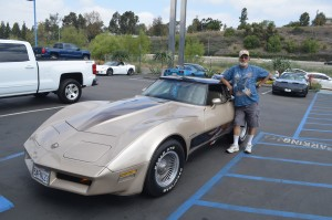 Lee Caudel and his '82 Collector Edition