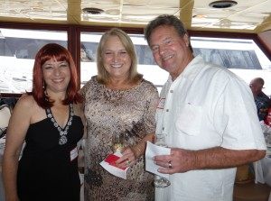 """Beth """"Ginger"""" Jacobson, Janet Smith and Jim Lassiter"""
