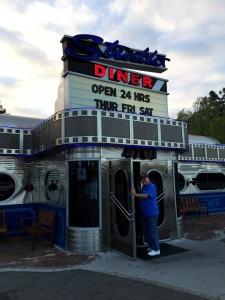 The Studio Diner is just a few blocks from KUSI.