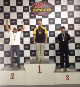 "The ""very fast"" group winners podium.  1st: Eric Gatley, COCSD; 2nd:  ,SDMC; 3rd: Matt Arena, COCSD"
