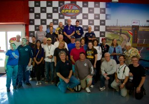 K1 Speed Challenge group photo.