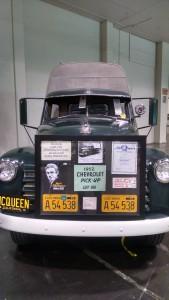 Steve McQueen's truck Front