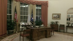 Reagan Library - oval office