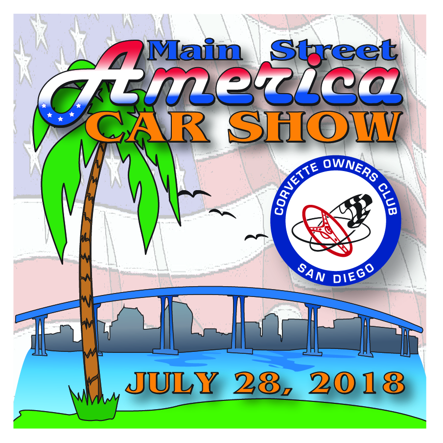 Main Street America Peoples Choice Car Show Corvette Owners Club - Car show sponsorship levels